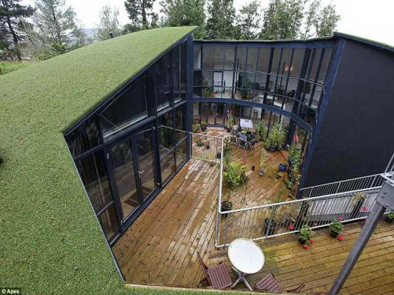 Underground Houses Part - 19: Best Underground Home Designs.