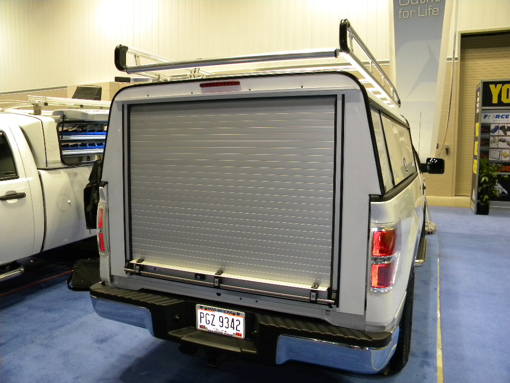 Gortite roll-up covers and doors at the 2011 NTEA Work Truck Show in Indianappolis. Here is some information from their website at //. gortite.com/ & Commercial Truck Success Blog: Gortite® Roll-Up Covers and Doors