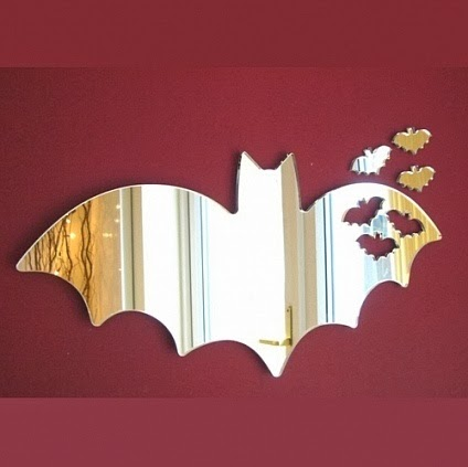 Bats out of Bat Mirror