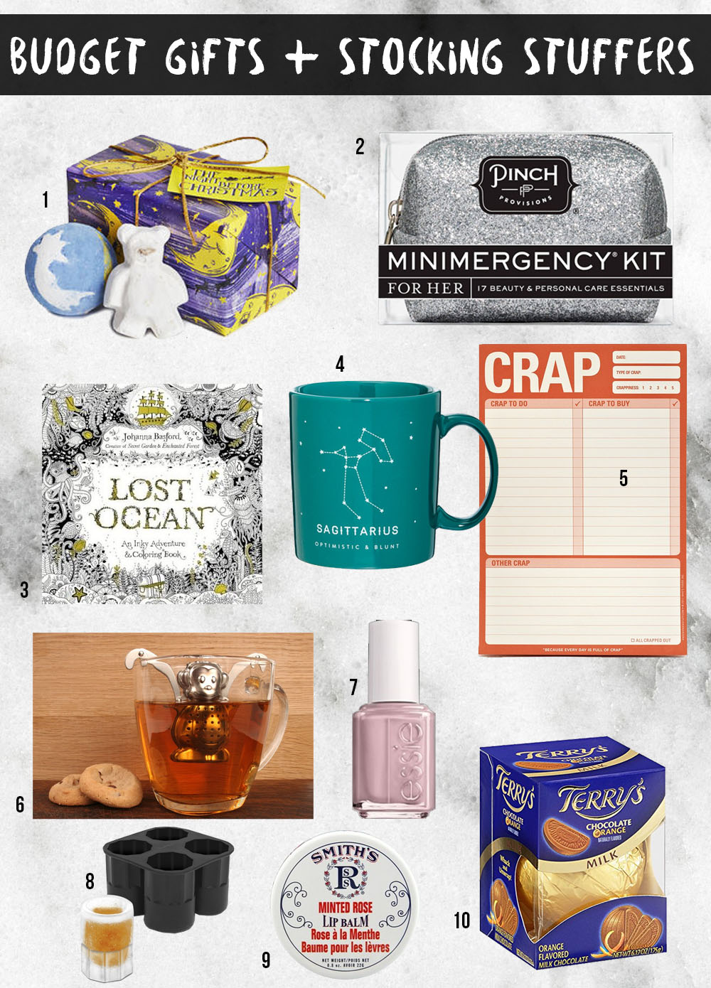 Here Are Some Handy Budget Gift Ideas That Cost Less Than $25, And Work  Well As Stocking Stuffers, Office Gifts, Or Presents For Secret Santa!