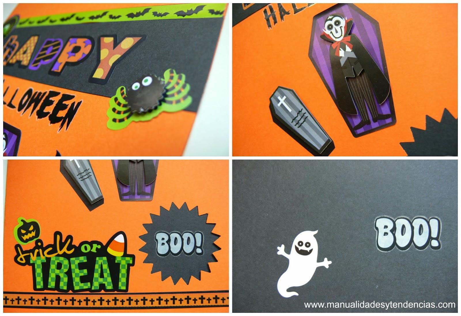 Tarjeta para Halloween para niños