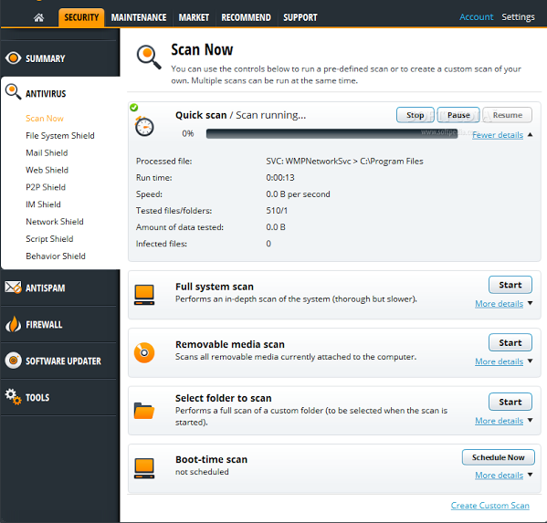 avast internet security how to turn off firewall
