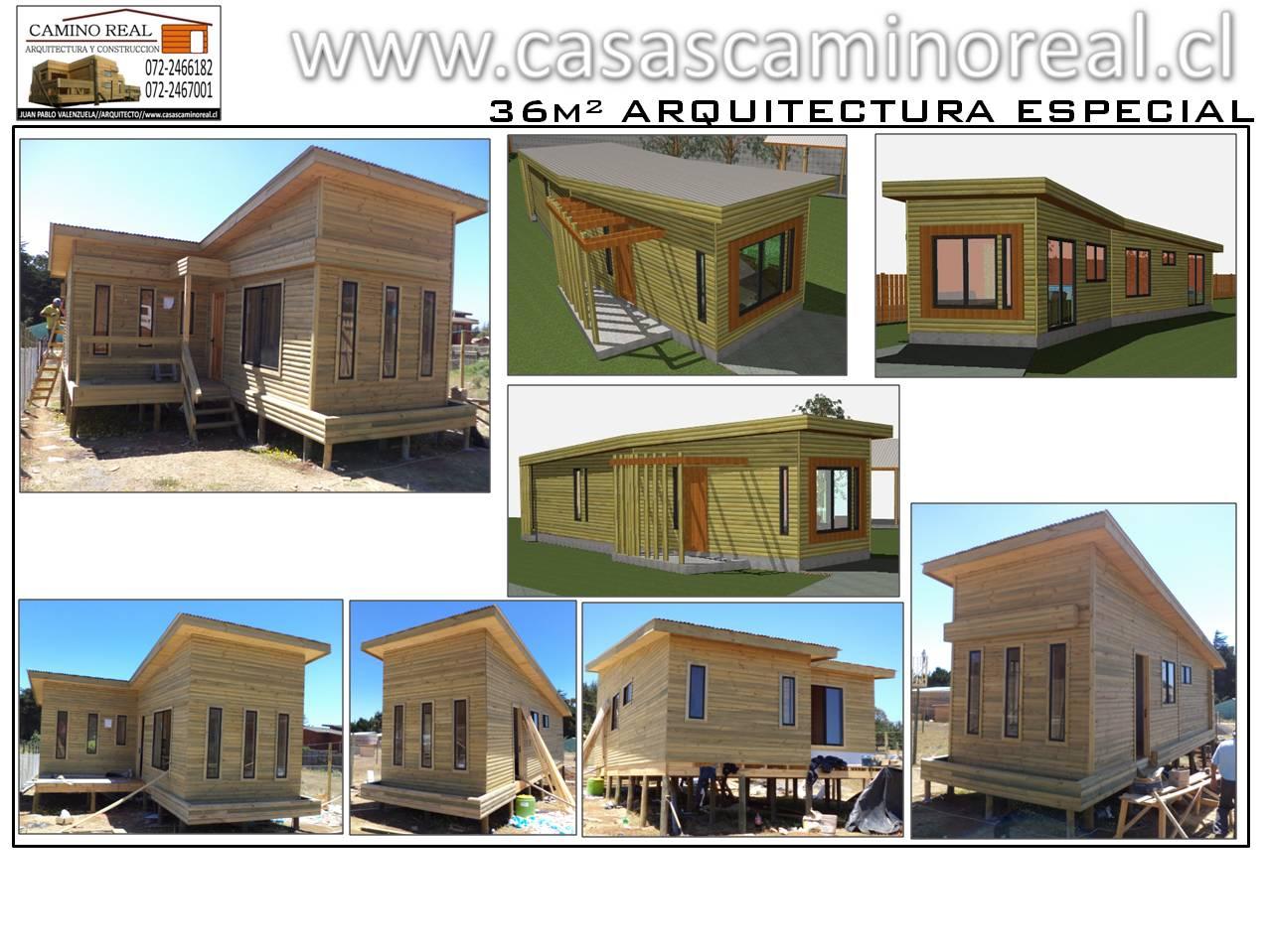 Casas prefabricadas de madera y acero galvanizado camino real - Casas prefabricadas de acero ...