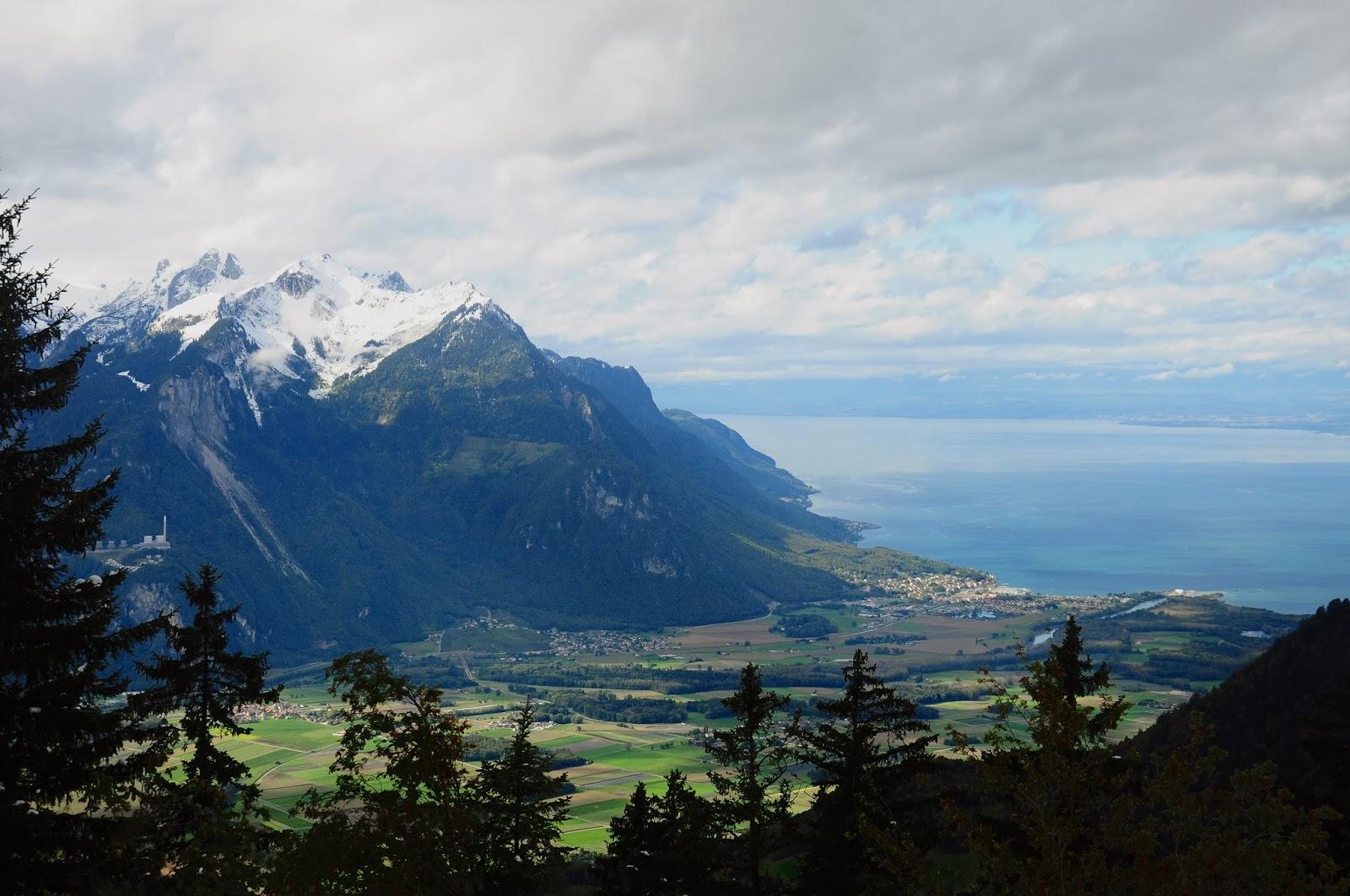 La Grande Crevasse Vaud randonné hiking Leysin