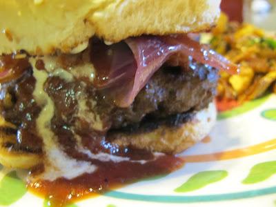 PYRC #11: Pineapple Bacon BBQ Burger and Chili Garlic Parmesan Fries ...