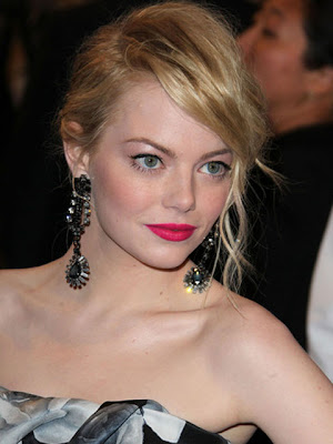Emma Stone Dangling Gemstone Earrings