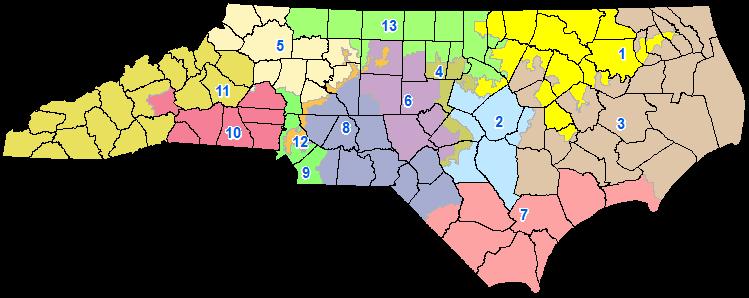 TRIADWATCH North Carolina District Map Viewer To Help In