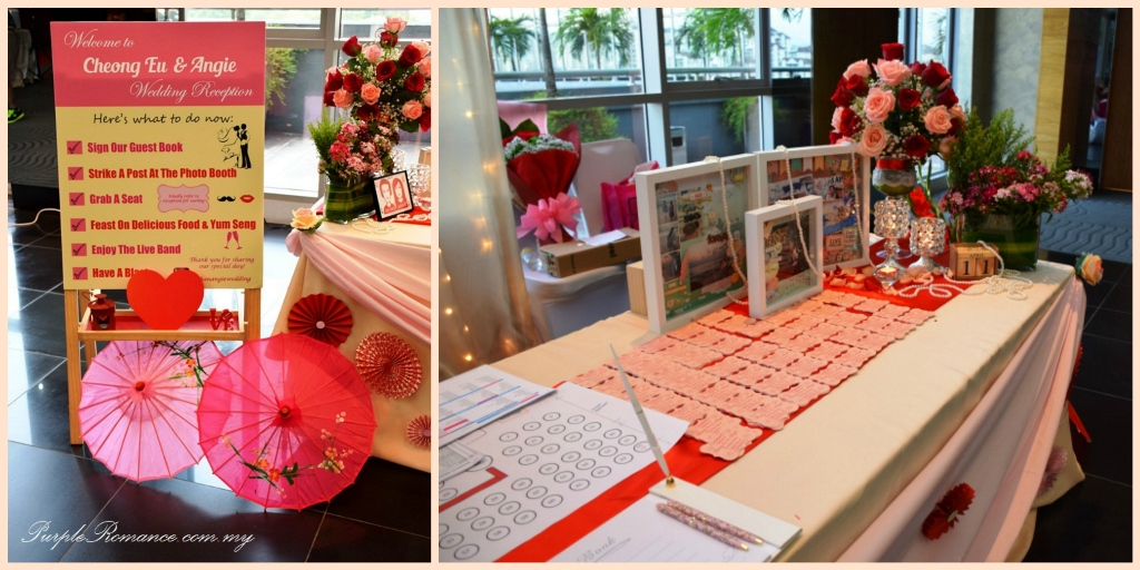 Wedding Decoration At Vivatel Hotel Kuala Lumpur Purple Romance Event Malaysia