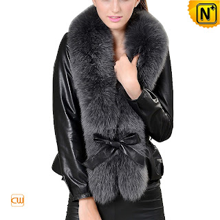 Women Fur Sheepskin Jacket