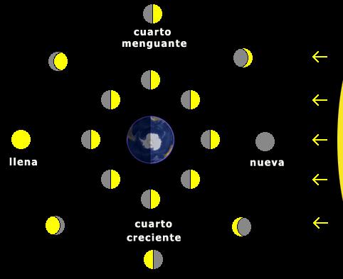 Los Primeros de La Paloma: La Tierra, la Luna, el Sol y las Estrellas.