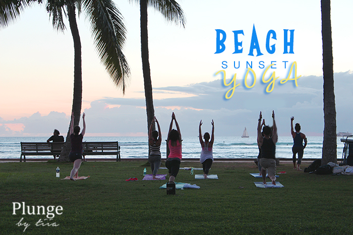 beach-sunset-yoga-waikiki-hawaii