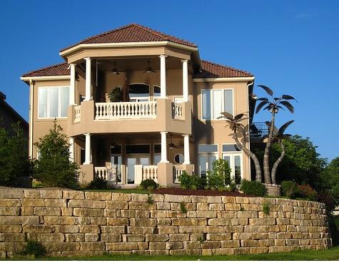 Color de pinturas para casa colonial imagui - Pinturas exteriores fachadas ...