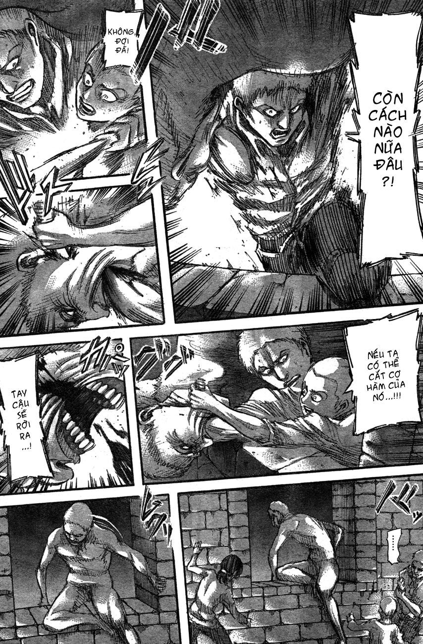 Attack on Titan chap 39 Trang 32