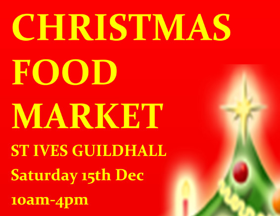 Christmas Food Market - St Ives Guildhall