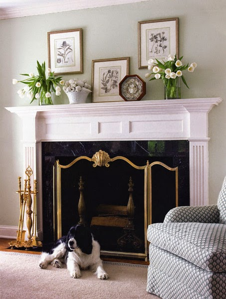 Fireplace Mantle Decorating Ideas