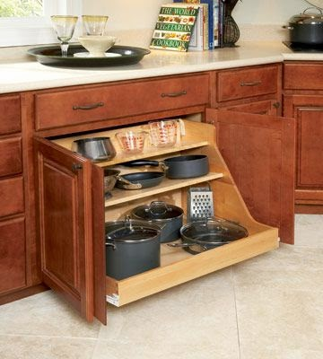 11 Ways To Organize Pots And Pans Organizing Made Fun 11 Ways To Organize Pots And Pans