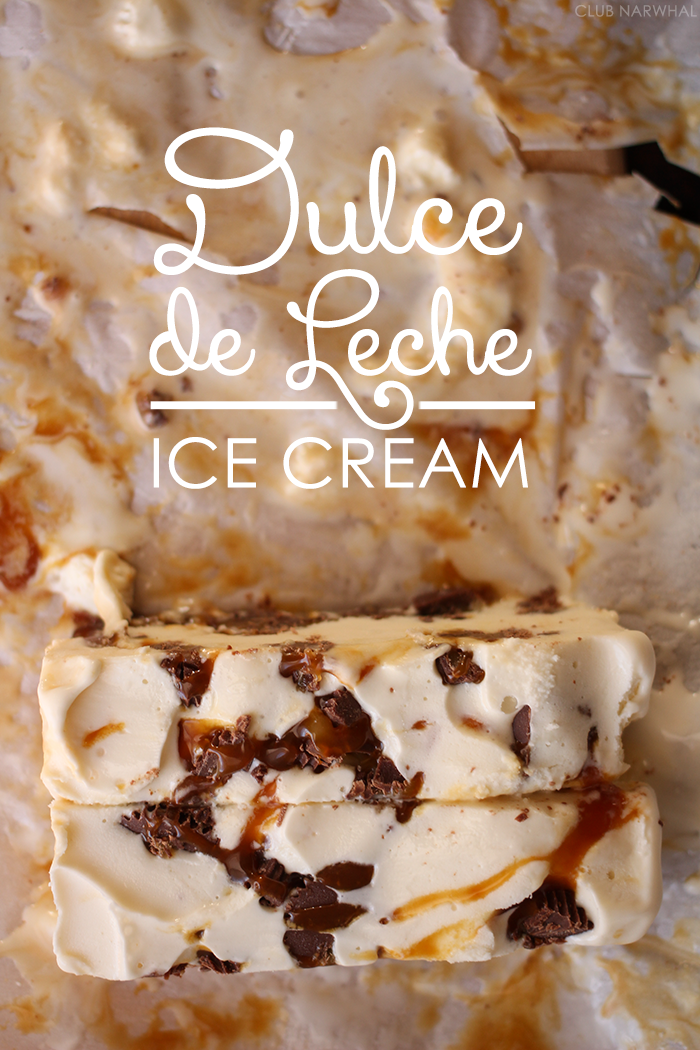 Dulce de Leche Ice Cream | A sweet summer treat everyone will love! # ...