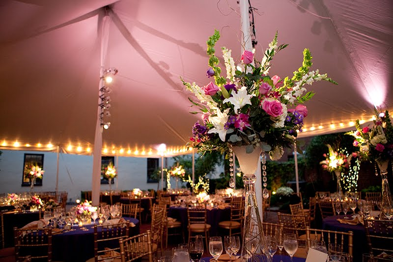 Decatur House Tented Wedding Reception