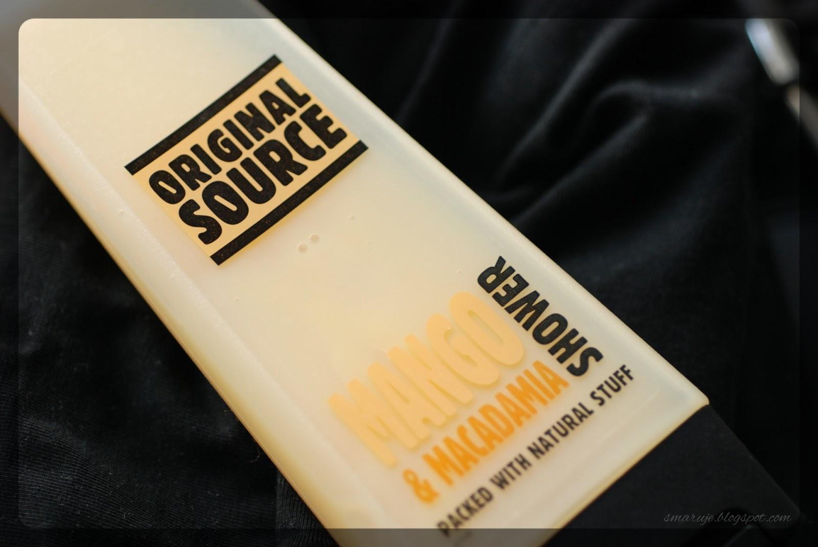 Garść minirecenzji –żele pod prysznic: Original Source, Lirene, AA, Dermacol