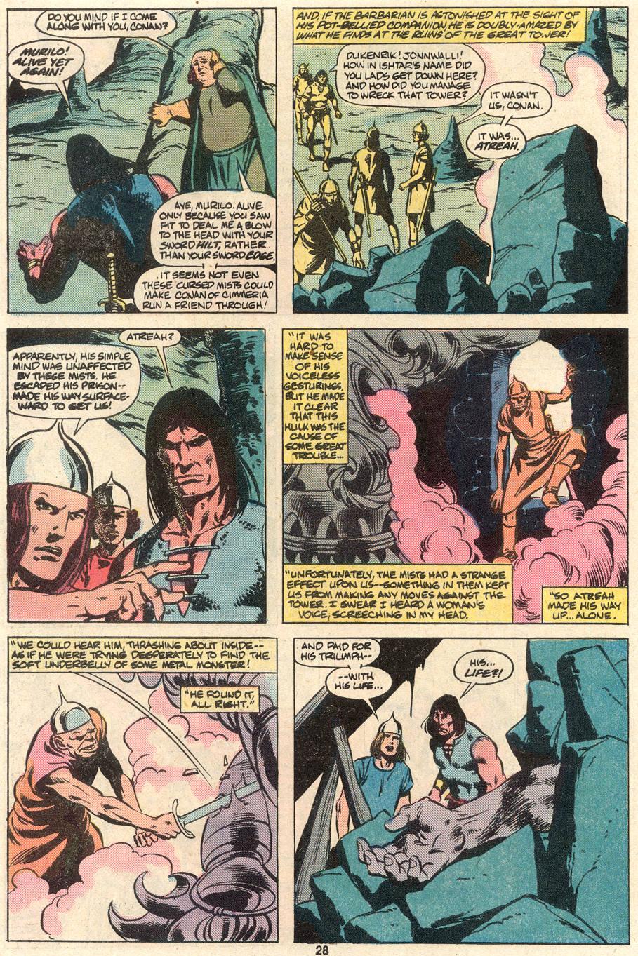 Conan the Barbarian (1970) Issue #124 #136 - English 22
