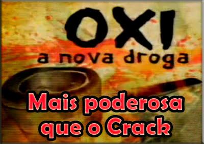 Oxi, la droga que causa estragos en Brasil