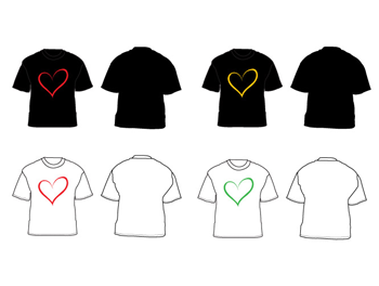krative workshop love ring T-shirt