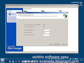 Restore Komputer dengan Active@ Boot Disk