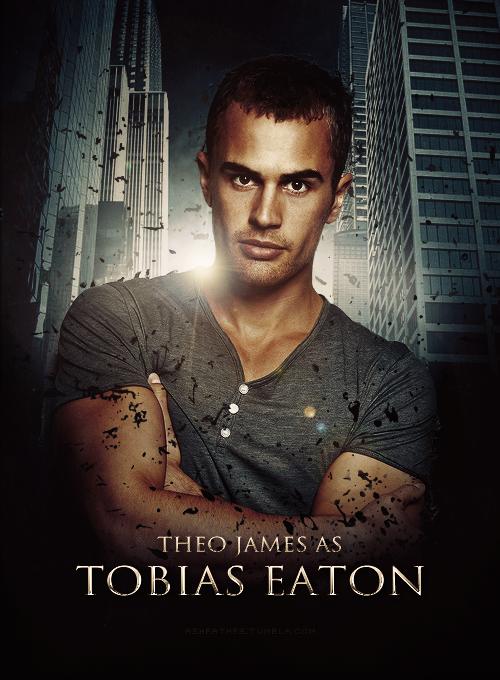 """Theo James fez o Tobias Eaton """"Quatro"""" no filme """" Divergente"""" (foto: divulgação)"""
