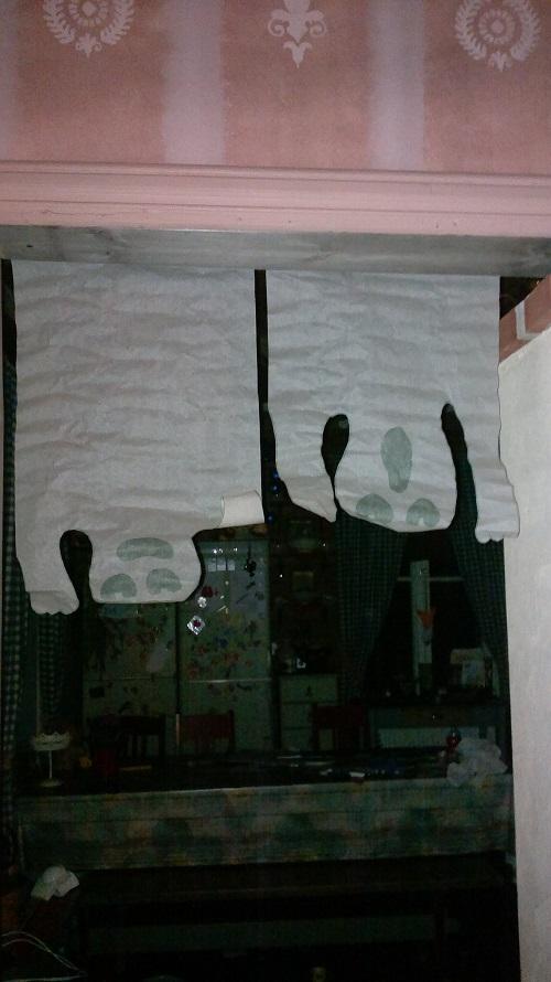 Uskallatko kulkea oviaukosta, jota vartioi kaksi haamua?