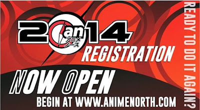 Anime North 2014 Pre-Registration Now Open!