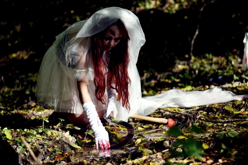 Halloween-Kostüm-Braut