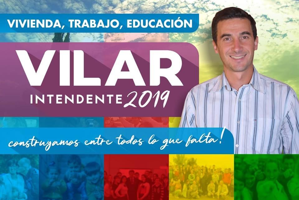 Lucas Vilar Intendente 2019