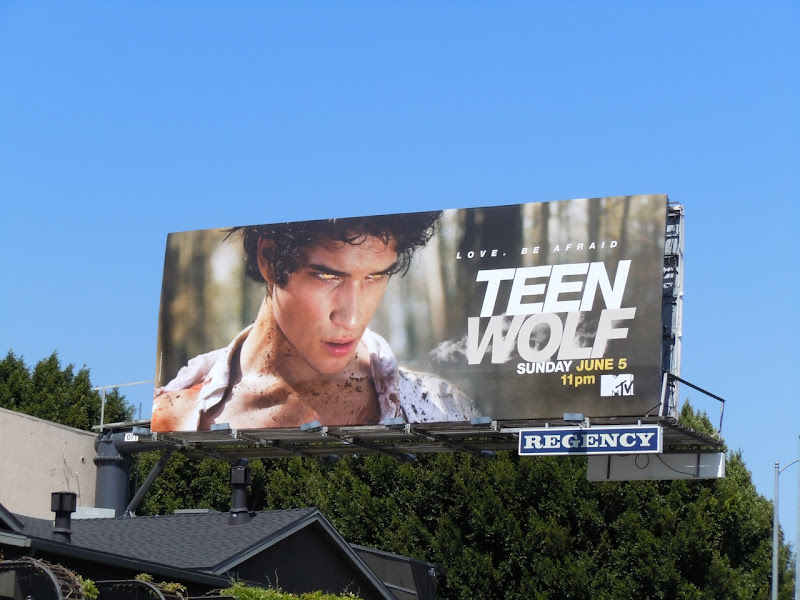 Teen Wolf MTV billboard