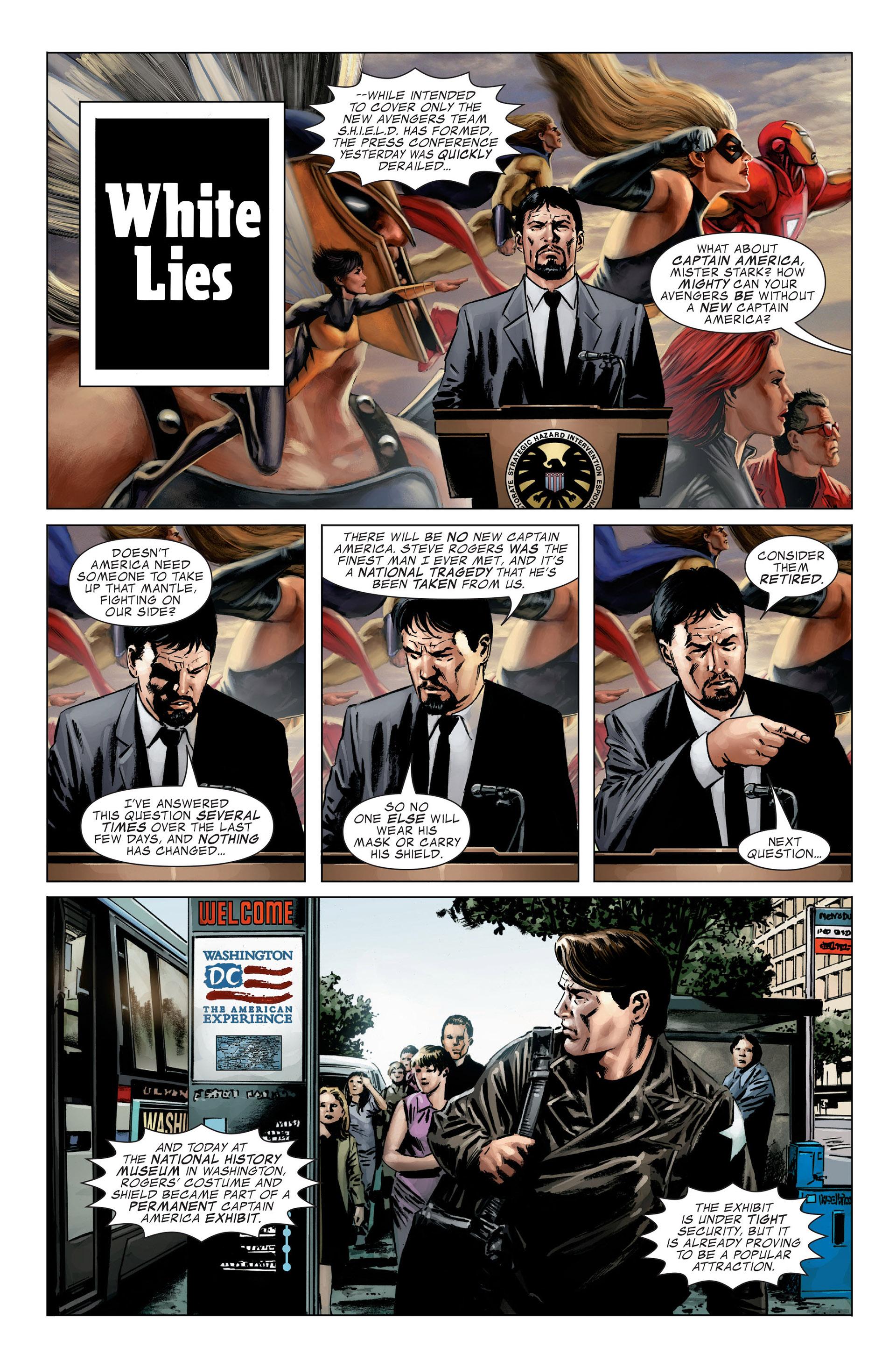 Captain America (2005) Issue #27 #27 - English 3