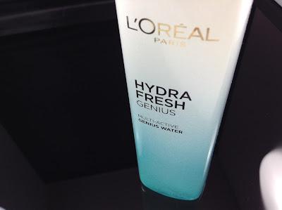 >>呠嚕呠嚕爆水珠珠*L'Oréal Paris HYDRAFRESH MUTLI-ACTIVE GENIUS WATER 水清新3合1智慧保濕精華水