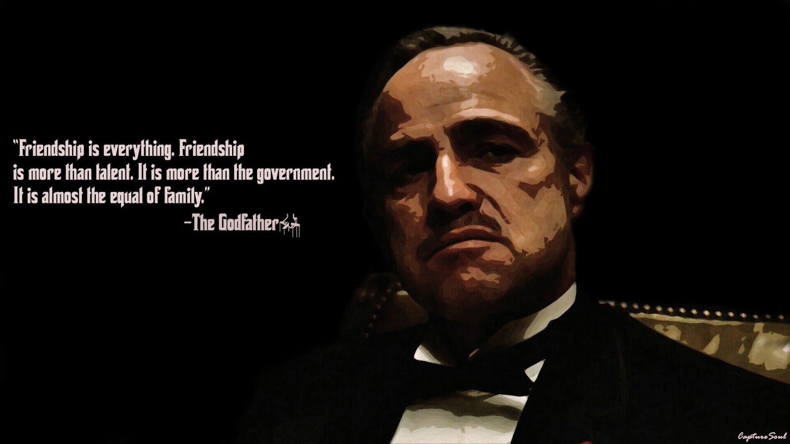 Friendship Quotes Godfather : The godfather don corleone quotes quotesgram