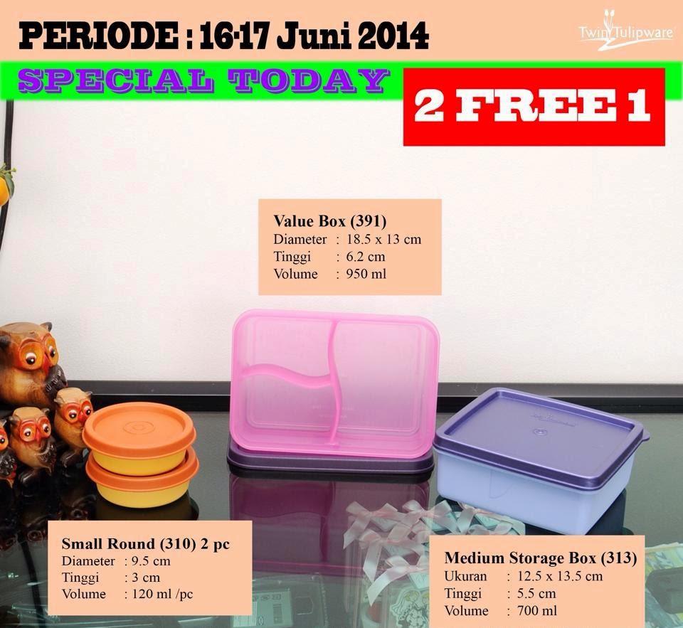 Promo Tulipware 16 dan 17 Juni 2014