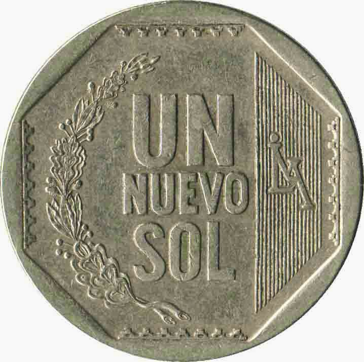 moneda de 1 sol