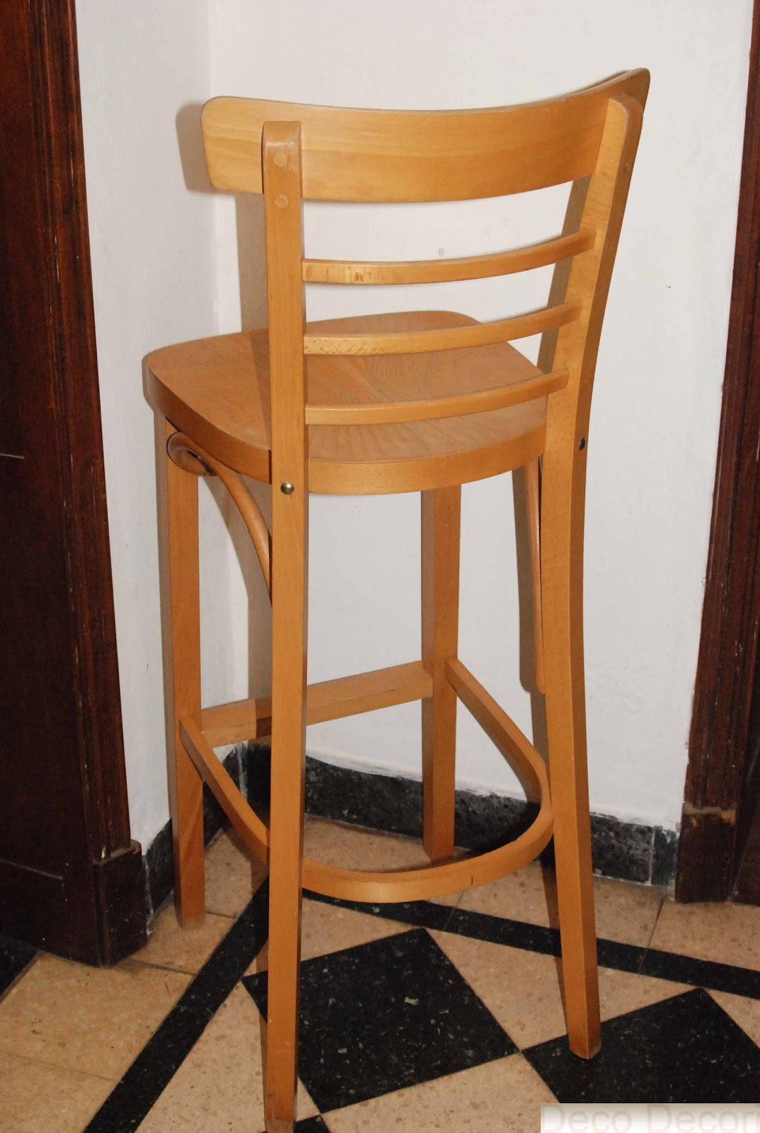 Banquetas y sillas - Banqueta de madera ...