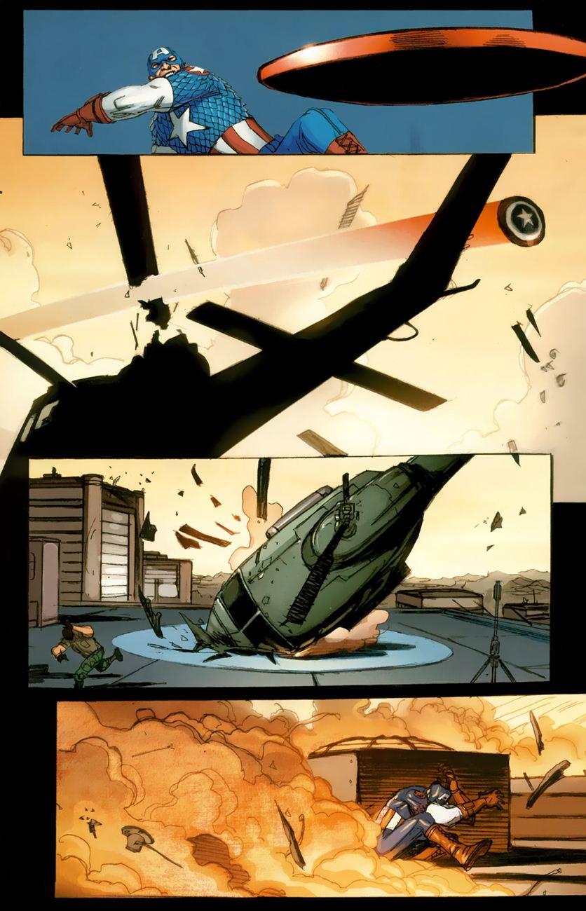 Ultimate Captain America chap 1 - Trang 22
