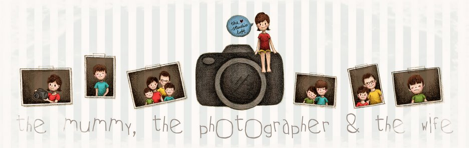 the mummy, the photographer &amp; the wife