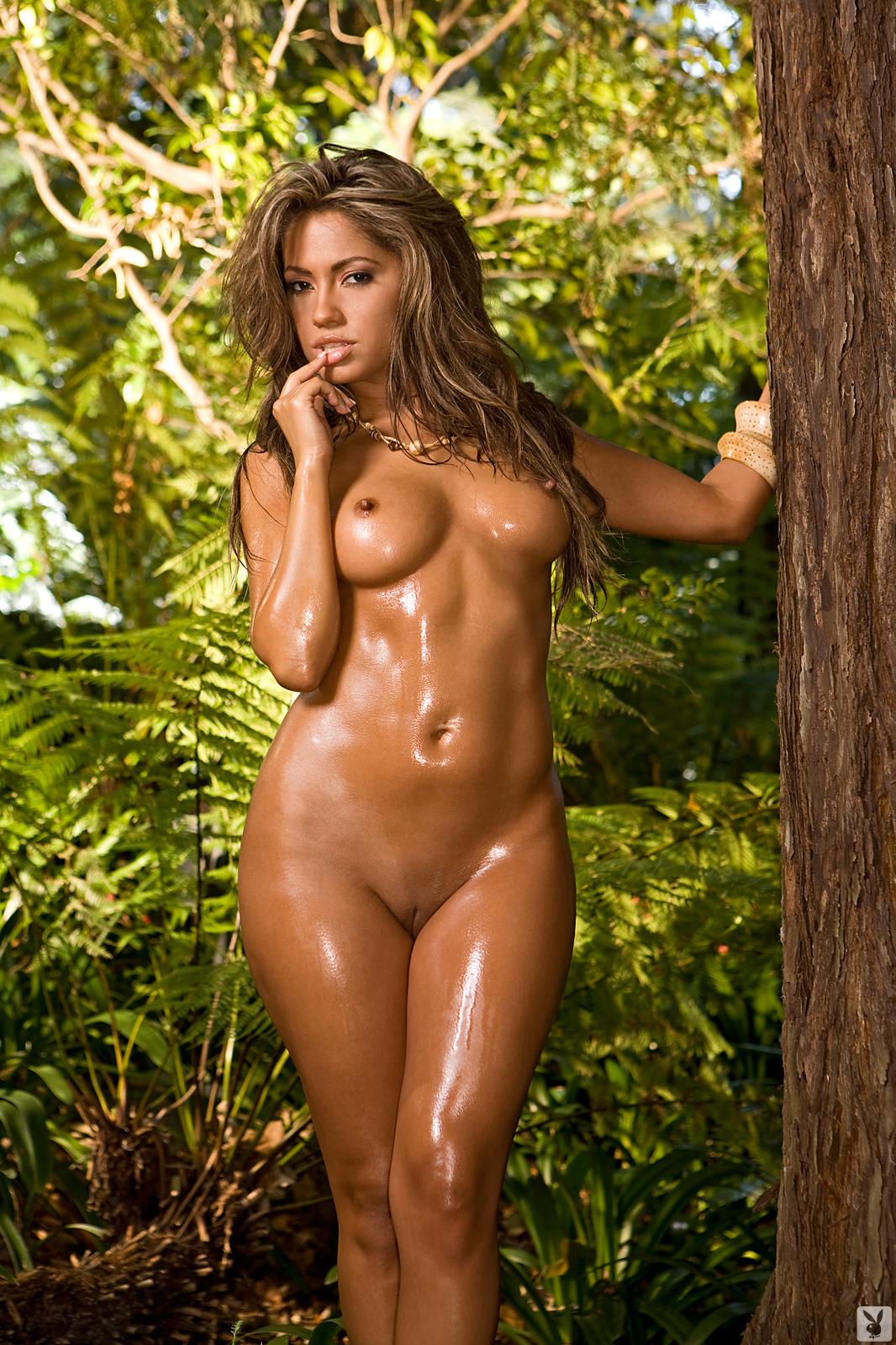 topless jungle girl photo