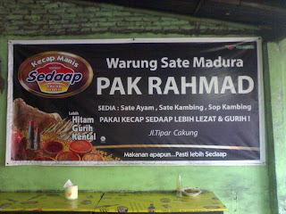 Warung Sate Madura Pak Rahmad