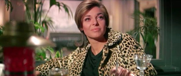 Mrs. Robinson in The Graduate
