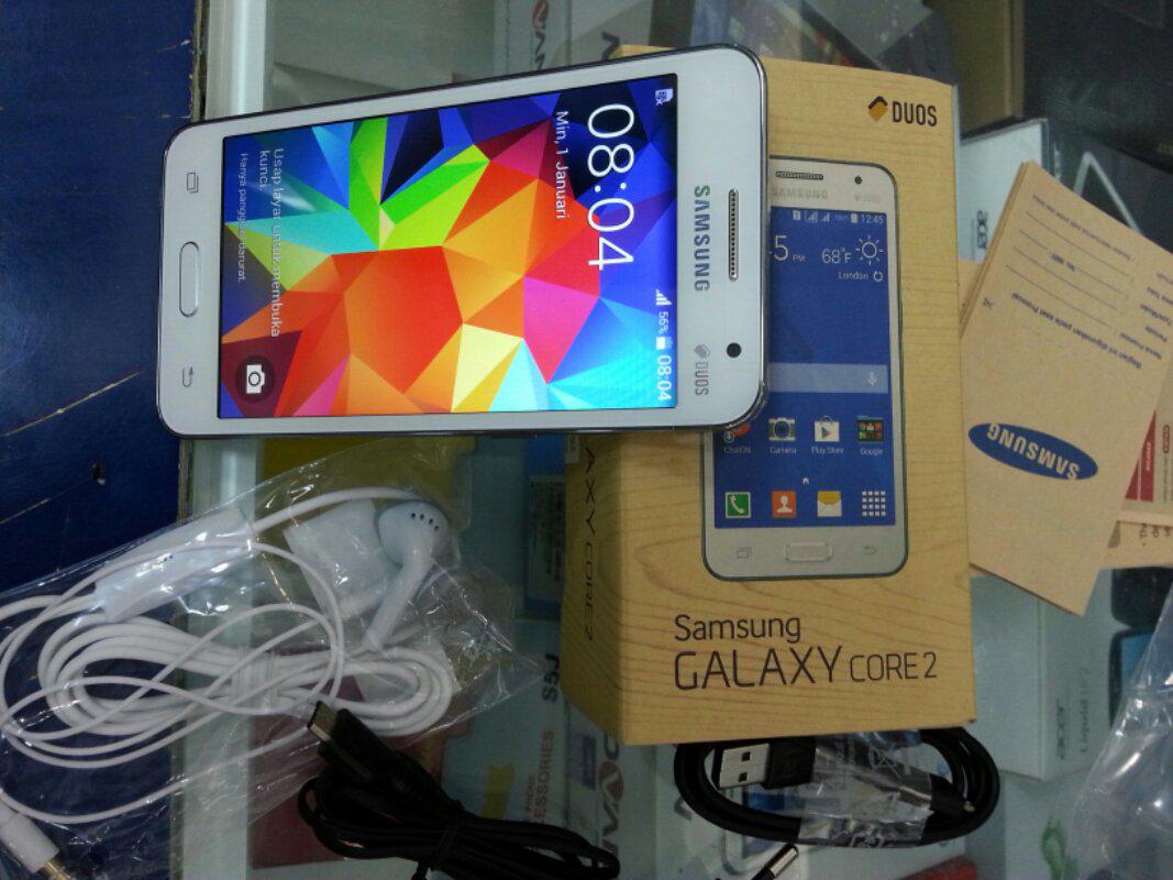 Spesifikasi HP Android Samsung Galaxy Core 2 Quadcore