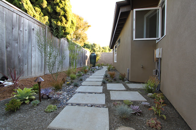mid-century modern landscape design AFTER picture