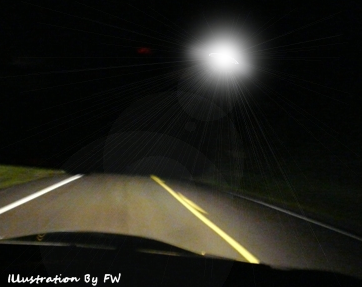 Driver Shocked by Sighting of 'UFO'