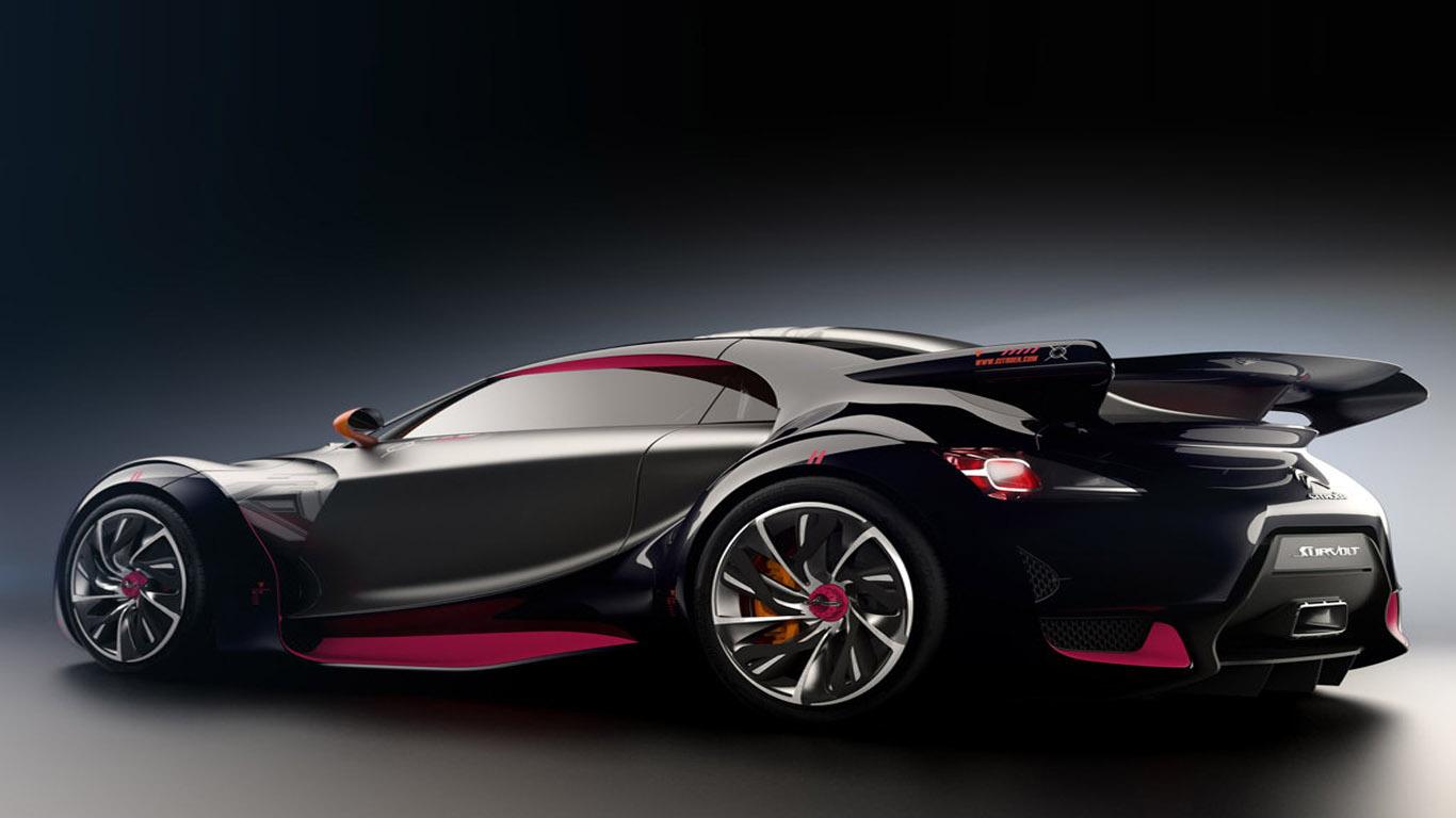 Citro 235 N Survolt Electric Supercar Dream Fantasy Cars
