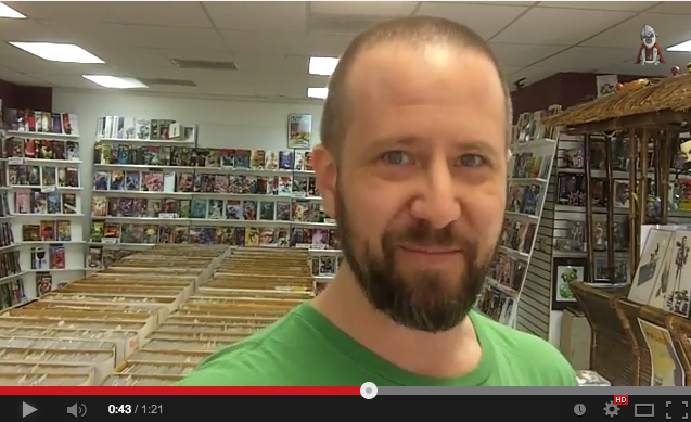 Sacramento comics shop owner