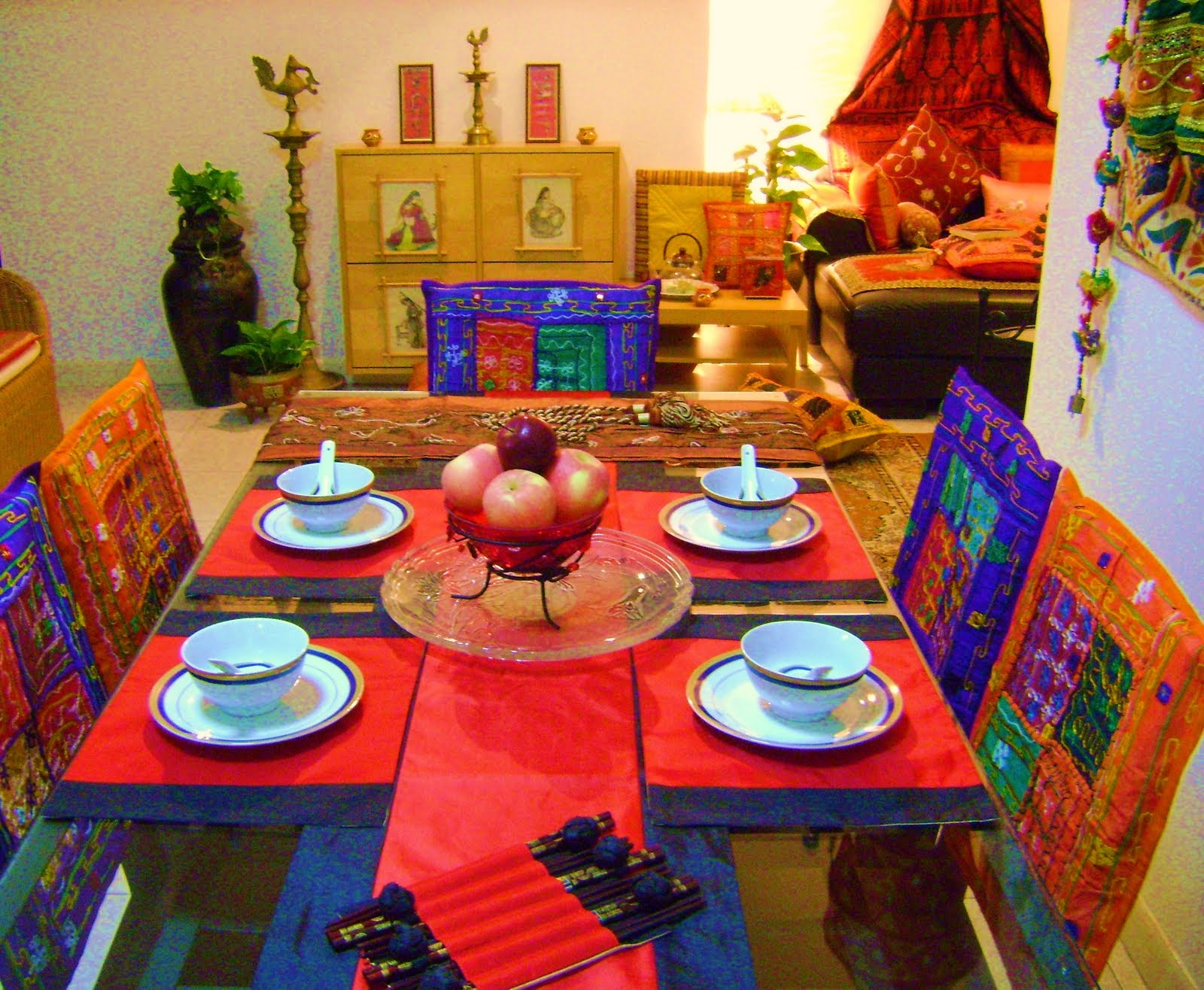 Ethnic Interior Design And Furniture Penang ~ Foundation dezin decor impressive indian homes